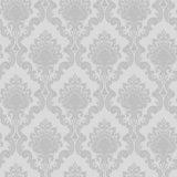 Papier peint classique DNC71034 de vinyle d'utilisation de maison de conception de damassé