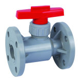 Pph Flange Ball Valve mit Good Quality und Cheap Price