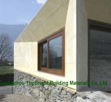 Окно бронзового цвета высокого качества алюминиевое сползая с конструкцией решетки