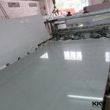 中国の卸し売り白い床タイルの人工的な石造りの大理石の水晶平板