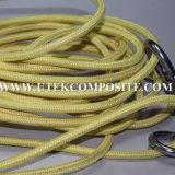 Precio competitivo Kevlar Aramid Trenzado Cuerda