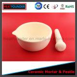 Mortero de cerámica del alúmina caliente de la venta el 99% con la maja
