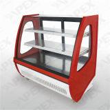 Showcase do refrigerador do indicador do bolo de Commerical em refrigerar de alta velocidade