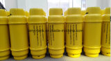 cilindro liquido del cloro 400L con la flangia e la valvola