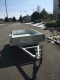 Remorque galvanisée plongée chaude du cadre 2016 avec le rampe de maille
