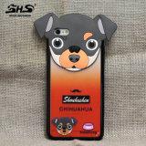 Caja del teléfono celular de la PC del diseño del perro de Shs para el iPhone 6