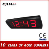 """¡[Ganxin] Pomtion! 4 """" reloj de pared de la precisión LED Digitaces del diseño moderno"""