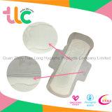 Serviette hygiénique élevée de coton absorbant