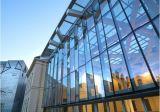 Construction en verre de mur rideau de structure métallique