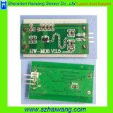 1m 거리 6-24V 마이크로파 동작 탐지기 PCB