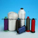 Poliéster Material de nylon blanco crudo y de colores de hilo de coser
