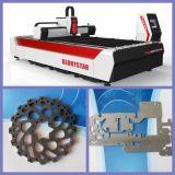 Grabador del laser de la fibra del CNC 1000W y máquina del cortador con precio