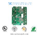 Изготовление PCB высокого качества разнослоистое с HASL и перстом золота