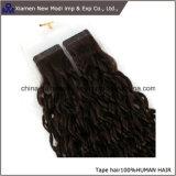 Extensions brésiliennes de bande de qualité de cheveux humains de Vierge meilleures