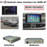(10-15) HD Car Multimedia Camera Video GPS Interface per Audi A7, A8, Q3, Q5, Q7