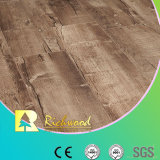 Placa de vinil 12,3 mm HDF Walnut Sound Absorbing Laminate Wood Flooring