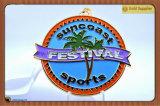 Suncoast mette in mostra la medaglia del regalo del ricordo di Participator di festival (JINJU16-084)