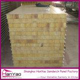 150mmの厚さの壁のための耐火性の鋼鉄岩綿サンドイッチパネル