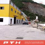 Entrepôt industriel préfabriqué de structure métallique de coût bas de Pth avec l'installation facile