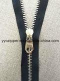 Não slider do fechamento 8# para o Zipper do metal para sapatas