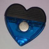 Clip magnético de la nota plástica imprimible colorida de la insignia