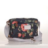Bolsas florais do saco de Crossbody da lona retro retro chinesa impermeável do estilo (99032-8)