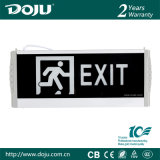 Indicatore luminoso Emergency automatico materiale ignifugo brevettato DJ-0f del prodotto LED con i CB