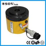 Clp Cilindro hidráulico de alto tonelaje Telescópico de bloqueo