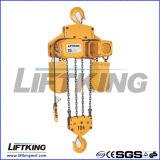 Het Elektrische Hijstoestel van uitstekende kwaliteit van de Ketting met het Werk Rang M5