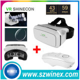 Bluetooth Gamepad + Vr Shinecon Virtual Reality 3D Glasses