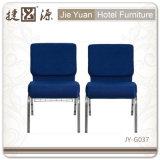 青い良質の結婚式教会椅子Sy-G037を販売する製造業者