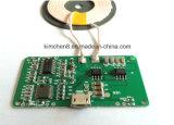 Circuito sem fio do carregador do transmissor sem fio novo do carregador de Qi do projeto