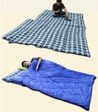 Pareja doble saco de dormir, tres cuartas partes de adulto sacos de dormir de algodón