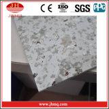 El material decorativo imitó la hoja de aluminio de mármol con la capa de PVDF (Jh108)