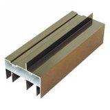 Alluminio di alluminio T - profilo dell'espulsione del pezzo meccanico di CNC