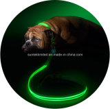 NylonFlashing LED Dog Leash mit Night Light
