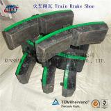 Bloco de freio composto da baixa roda do trem da frição