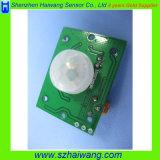 Módulo de controle do sensor de movimento da alta qualidade PIR (HW-8002)