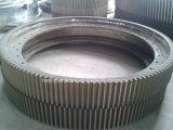 Engrenagem grande, engrenagem grande, engrenagem de anel grande para a maquinaria de mineração