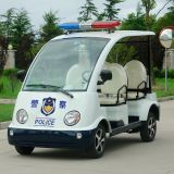 Carro de patrulha elétrico da segurança do campo de jogos do parque de 4 assentos (DN-4P)