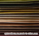 Tissu en gros de velours de polyester pour le sofa
