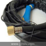 Venda quente! Tocha de soldadura de refrigeração ar 4m do arco de argônio de Wp-17 TIG-17 com punho azul