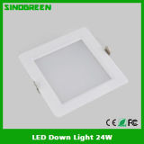 최신 High Quality LED Down Light 24W