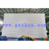 직업적인 Inflatable Bubble Camping Tent 또는 White Decorations Inflatable Bubble Tent