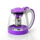 Стеклянное Teapot Different Color Wholesale Teapot с Scale