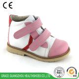 優美のワックスを掛けられた分割された豚革のライニングが付いているオルト靴の子供の整形治療用靴
