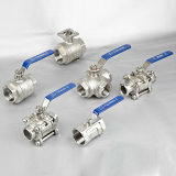 Sales caldo Stainless Steel Thread Ball Valve per Household