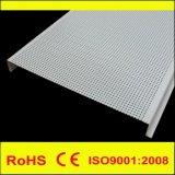 Linearer H Aluminiumstreifen-falsche verschobene dekorative Decke des Metall