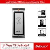 Contrôle d'accès imperméable à l'eau de lecteur de RFID de Wiegand Input&out de lecteur de cartes de proximité en métal