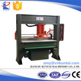 Máquina de estaca hidráulica principal do PVC do curso